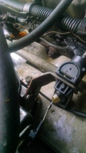 Trans cable mount