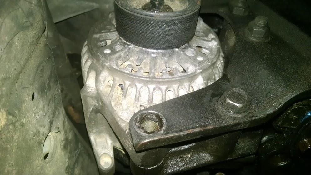 Jeep Cherokee alternator